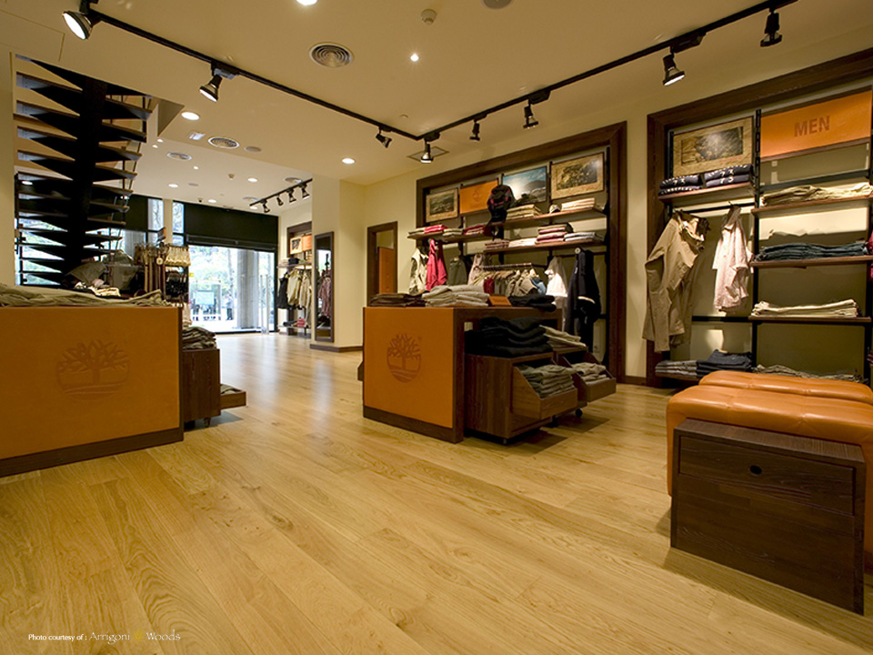 Knotty Oak- Timberland Retail Store - Engineered, Reclaimed, Real Hardwood Floor Photo Gallery Nor-Cal