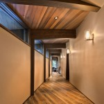 Old Growth Bavarian Rustic Oak with Custom Natural Oil, Private Residence Martis Camp, Copyright Vance Fox