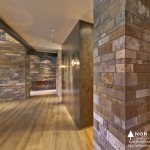 Old Growth Bavarian Oak with Custom Natural Oil, Private Residence-Martis Camp, Copyright  Vance Fox