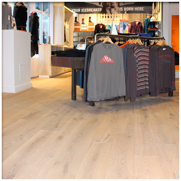 Commercial flooring options in truckee and retail stores