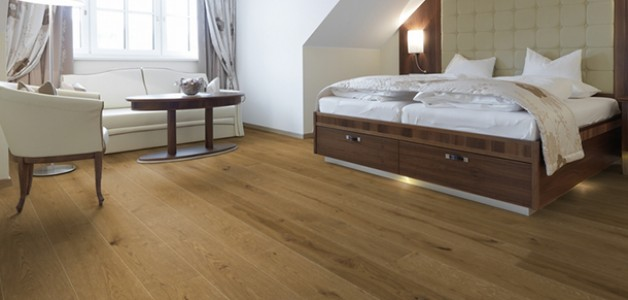 Quality Engineered Flooring CAN be Refinished and Sanded