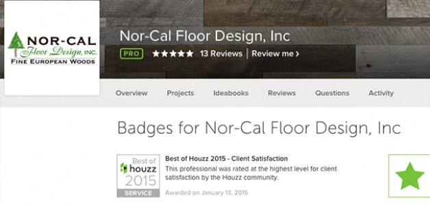 Winner of Best Of Houzz 2015 Award